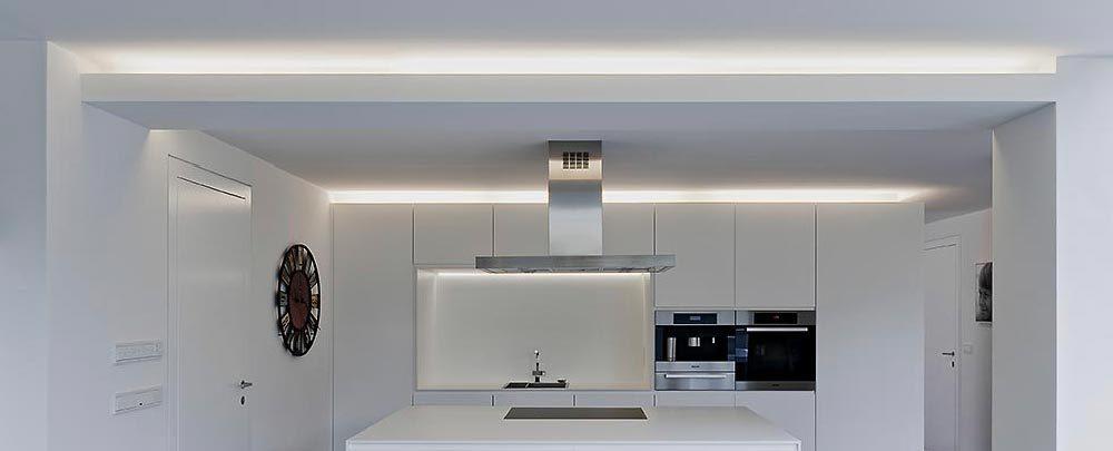 Estremamente Illuminazione LED indiretta cucine - Virdemlux PE57
