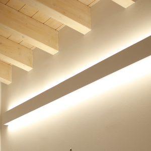 Barre LED a parete